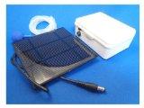 ハイブリッド ソーラー エアーポンプ 大容量パネル付 (プラグバージョン) エアポンプ (簡易防水)